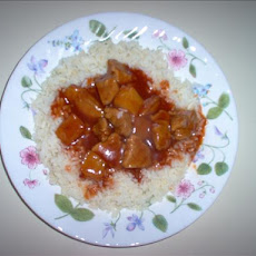 Prize-winning Polynesian Pork over Rice
