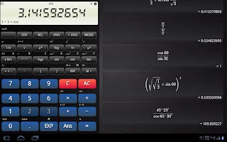 Screenshot of Old School Calculator