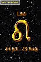 Screenshot of Leo Zodiac Sign
