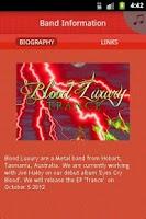 Screenshot of Blood Luxury