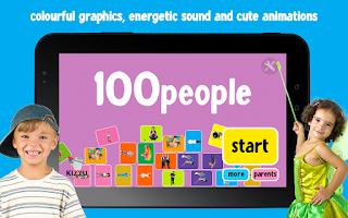 Screenshot of 100 People Words for Babies