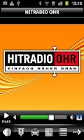 Screenshot of HITRADIO OHR