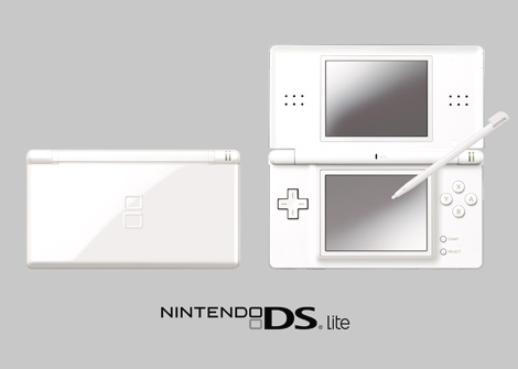 Nintendo reveal DS Lite handheld