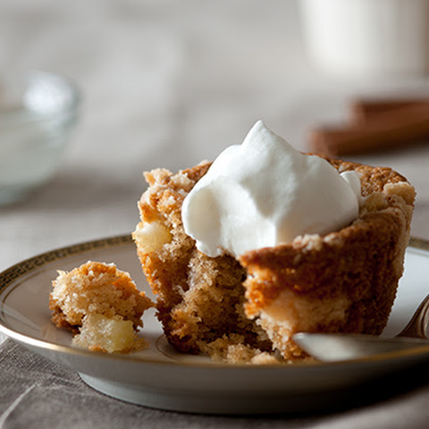 Cardamom Apple Crumb Cakes