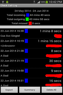 Check Call Log Ad - screenshot