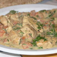 Fricassee of Chicken a La Berrichonne