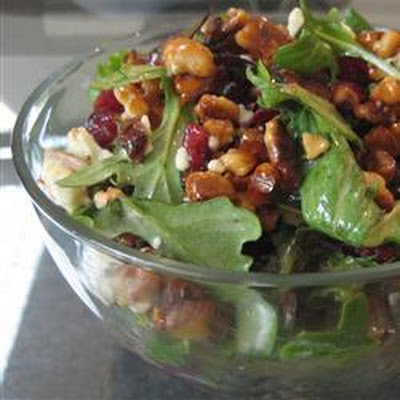 Missy's Candied Walnut Gorgonzola Salad