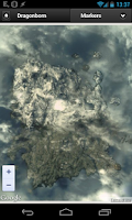 Screenshot of Skyrim Map