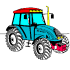 Coloring book Tractor Series icon