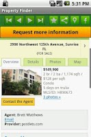 Screenshot of Property Finder