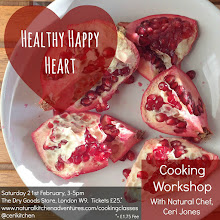 Healthy Happy Heart Cooking Workshop with Natural Chef Ceri Jones