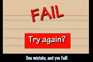 Screenshot of Poke Moron Test Deluxe