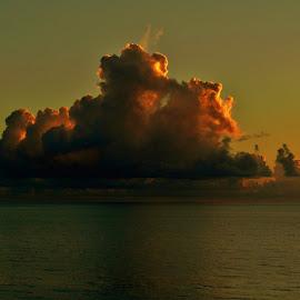 Morning Clouds by Matthew Beziat - Landscapes Cloud Formations ( sunshine state, jensen beach, ocean sunrise, dawn, atlantic ocean, florida sunrises, florida clouds, sunrise, ocean view, hutchinson island,  )