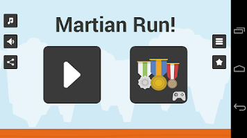 Screenshot of Martian Run!