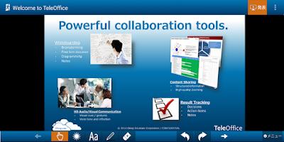 Screenshot of TeleOffice