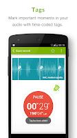 Screenshot of Recordense Voice Recorder Lite