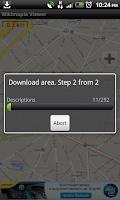 Screenshot of Wikimapia Viewer