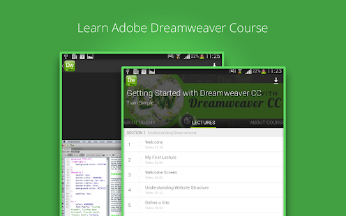 learn how to use dreamweaver