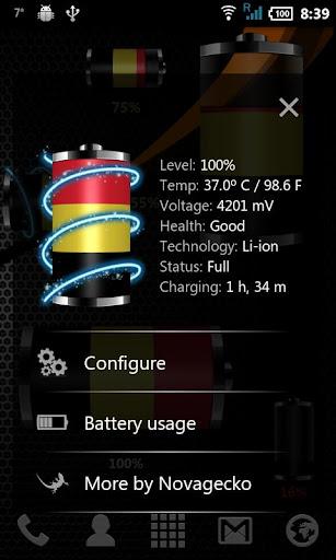 玩免費個人化APP 下載比利時 - 國旗電池小工具 app不用錢 硬是要APP