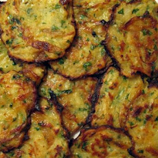 Caramelized Onion-Potato Pancakes Recipe