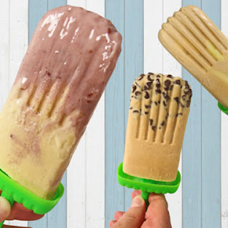 Peanut Butter Ice Pops