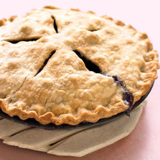 Blueberry-Ginger Pie