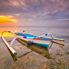 all in one by I Made  Sukarnawan - Transportation Boats ( sunset, sunrise, landscape )