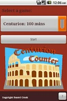 Screenshot of Centurion Counter
