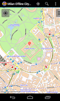 Screenshot of Milan Offline City Map