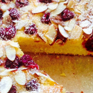 Ricotta, Almond and Raspberry Cake (gf)