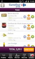 Screenshot of Carrefour Drive