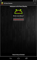 Screenshot of SU Root Checker
