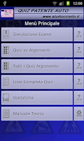 Screenshot of Quiz Patente 2015