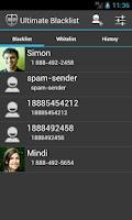 Screenshot of Blacklist-SMS,MMS,Call Blocker