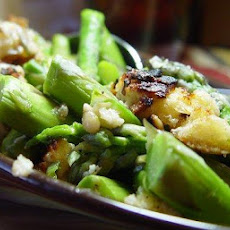 Asparagus Gratin...fancy and Good!