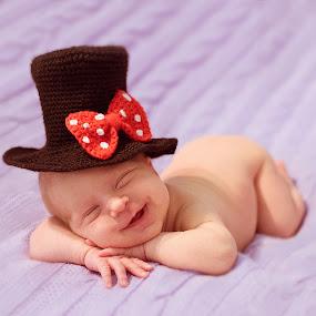 smile by Svetlana Mazurina - Babies & Children Babies ( photographer svetlana mazurina, newborn photo, children, baby smiling, infants )