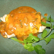 Jalapeno Burritos With Red Chili Gravy