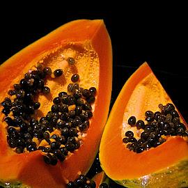 papaya by Tracey Jones - Food & Drink Fruits & Vegetables ( pawpaw, fruit, papaya, fruits and vegetables )
