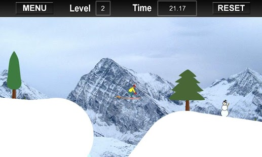 Turbo Snow Skiing Micro - screenshot