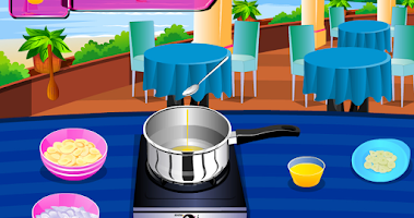 Screenshot of Crazy chef – Sesame Tuna