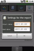 Screenshot of PGM-Invoice Best Client Report