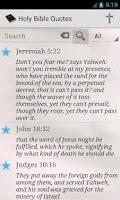 Screenshot of Daily Bible Verse WEB