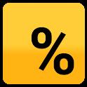 Tip Calculator — Minimalist icon