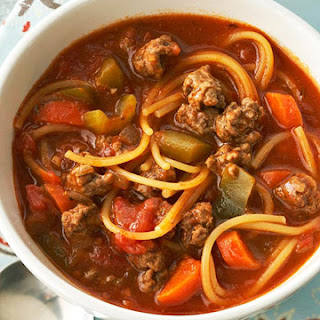 Spaghetti Soup Ground Beef Recipes