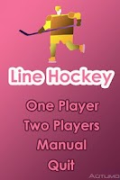 Screenshot of Line Hockey