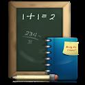 Prueba de matemáticas icon