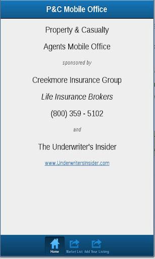 Insurance Market Finder