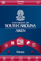 Screenshot of USC Aiken