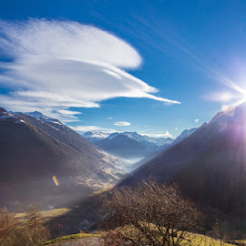 Nice moment with nature .... by Christophe Warpelin - Landscapes Mountains & Hills ( mountains, valais, mountain, switzerland, landscape,  )