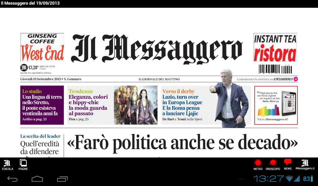 Il Messaggero Digital Screenshot 6